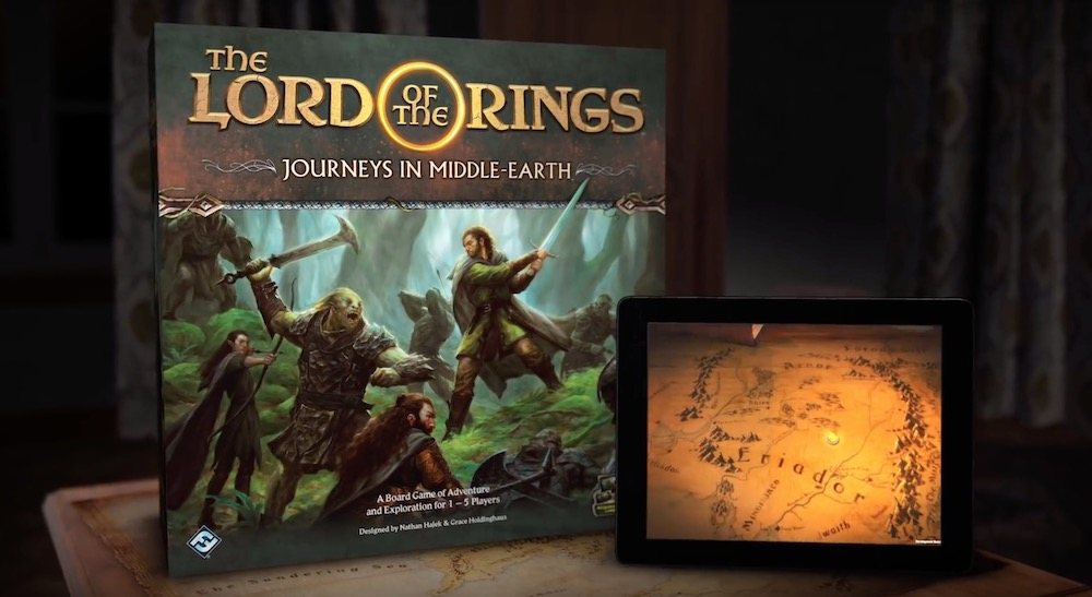 FFG анонсировала игру The Lord of the Rings: Journeys in Middle-earth