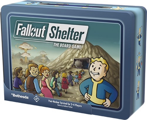 Fallout Shelter: The Board Game - новая игра от FFG